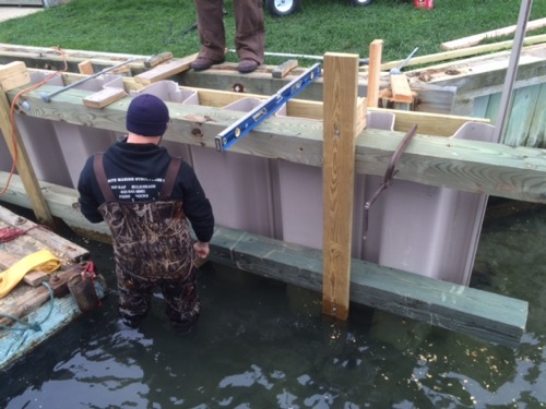Best marine construction contractors building the best bulkheads in ocean city MD